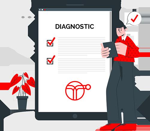 Diagnostic - illustration